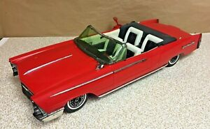 """Rare Vintage 1964 Reading Deluxe Crusader 101 30"""" Red Convertible Tested Working"""