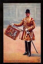 Tuck State Trumpeter in uniform Life Guards Military Uk postcard