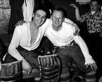 Jonny Bower, Terry Sawchuk Toronto Maple Leafs 8x10 Photo