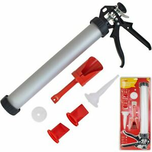 Amtech Mortar Gun Set For Pointing Grouting For Brick Paving Slabs Tile Cement
