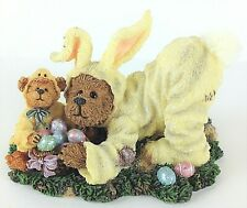 Boyds Bears & Friends PB Easterbeary & Chicklet Sunny Side Up #2277905 Figurine