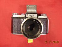 Praktica FX 2 Spiegelreflexkamera Objektiv Carl Zeiss Jena Tessar 2,8/50