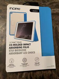Incipio Octane Folio Hybrid Case for iPad Air 2 Blue-impact Absorbing