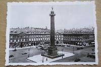 TOURIST PHOTOGRAPH (8.8x6.2 cm)- PLACE VENDOME, PARIS FRANCE