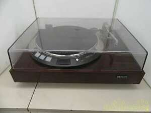 DENON record player DP-55L From Japan