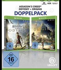 Assassin S Creed Origins+odissey Xbox One No Cd No Key