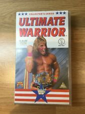 WWF WWE. Ultimate Warrior. Rare VHS. Collector's Series. Silvervision 1990