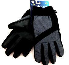Isotoner Signature Men's Gray Nylon Sleekheat smarTouch® Gloves Size L/XL