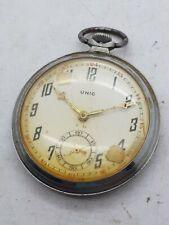 Ancienne montre gousset 1930 Unic