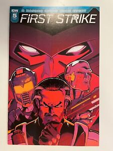 IDW FIRST STRIKE #5 RI-C COVER : HTF! : NM CONDITION