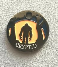 BIGFOOT SASQUATCH CRYPTID PATHTAG GLOW IN THE DARK