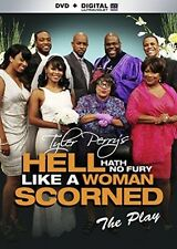 Tyler Perry's Hell Hath No Fury Like A Woman Scorned [DVD + Digital], New