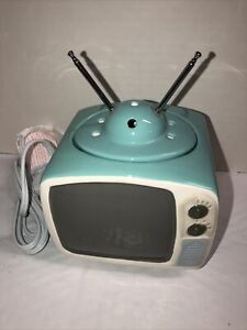 Scentsy Full Size Wax Warmer Telly Retro TV Retired Hard to Find New in Box