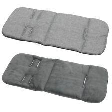 Universal Buggy Pram Stroller LINER INSERT Washable  grey elephant grey