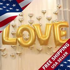 "30"" Wedding Engagement Love Proposal Balloon Set Love Paradise 14 pcs USA Seller"
