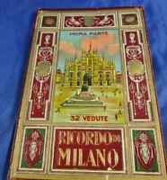 32 Vedute-Ricordo di Milano-Bilder -Ich erinnere mich an Mailand 20/30 Leporello
