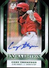 ET 2013 Elite Extra Edition Signature Status Emerald #41 Cory Thompson #02/25