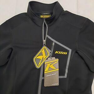 New Klim Inferno Jacket Black Size Small 3354-005-130-000