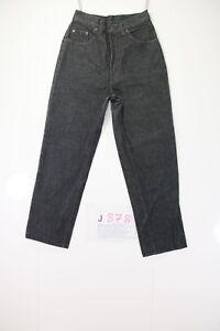 Levis 531 Boyfriend (Cod. J878) Tg42 W28 L34 jeans usato ACCORCIATO Donna nero
