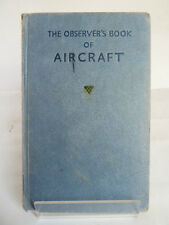 THE OBSERVER'S BOOK OF AIRCRAFT compiled by WILLIAM GREEN 1967