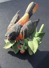Baltimore Oriole Lenox Garden Bird Collection Excellent Condition