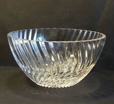 TOWLE CRYSTAL BOWL 7 inches in diameter and 4 inches tall
