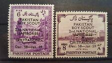 PAKISTAN CLASSICS  Boys Scouting 1958 mi.nr 101-102 mint