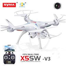 Syma X5SW-V3 Wifi FPV Explorers 2.4G 4CH RC Quadcopter Drone HD Camera UFO White