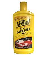 2 Of Original Formula 1 CARNAUBA WAX Car Liquid Polish 16oz