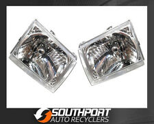 FORD COURIER HEAD LIGHTS LAMPS SUIT PG PH 2002-2006 MODELS *NEW PAIR*