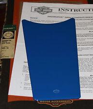 HARLEY 71088-96 BLUE PEARL DASHINATOR FLHS FLHT FLHTC FLTC 89 UP GENUINE OEM NOS