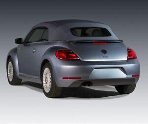 Volkswagen Beetle 2012-2019 Convertible Top & Glass window Black Twillfast RPC