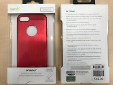 Moshi iGLAZE Armor Metallic Case for iPhone 7 8  4.7 inch in RED