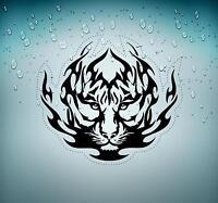 Autocollant sticker voiture moto macbook tuning tigre tiger tribale tribal r2