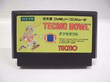 NES -- TECMO BOWL -- Famicom. Japan game. Work to ensure!! 10804