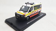 New Signal1 Model 1:43 White New South Wales Ambulance Sprinter 2016