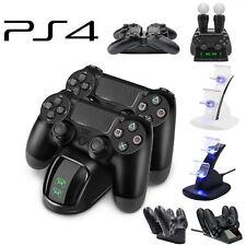 Двойная подставка для быстрой зарядки станция зарядное устройство док-станция для Sony PS4 Dualshock контроллер