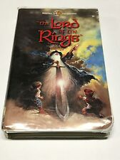 THE LORD OF THE RINGS Animated 2001 Clamshell RARE OP