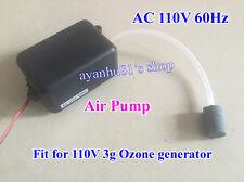 AC 110V 60Hz 30A Air Pump 8.0L /min + Air stone + Tube for 3g Ozone Generator