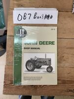NIP I&T John Deere JD-10 Shop Service Manual Models 50,60,70