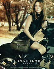 Publicité Advertising 038  2011   sac Longchamp   & Kate Moss