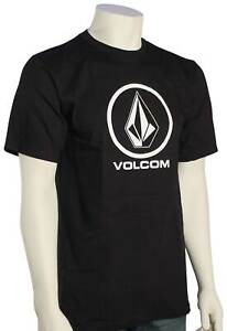 Volcom Crisp Stone T-Shirt - Black - New
