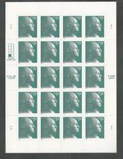 3819 George Washington Mint NH Plate V11 scarce full pane no folds