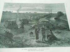 La Chine China Les Pauvres de ShanghaïGravure 1883
