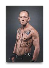 Gray Maynard Signed 12x8 Photo UFC MMA Fighting Autograph Memorabilia + COA