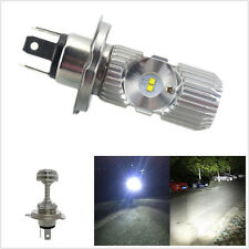 One Pcs 12V 20W Motorcycles ATV 4-LED White 1400LM High Low Beam Headlight Bulb