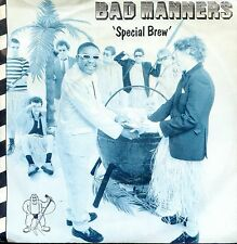 7inch BAD MANNERS special brew HOLLAND 1980 EX