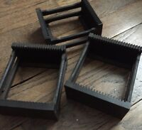 PLANOX STEREOSCOPE PANIER TRAY POUR 20 PLAQUES VERRE STEREO 45x107