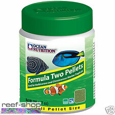 Fish Food Pellets Ocean Nutrition Formula Two SMALL 200 gram FREE USA SHIPPING
