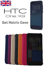 For HTC One A9 X9 360° Smart Matrix Premium Retro Shockproof Flip Case Cover UK